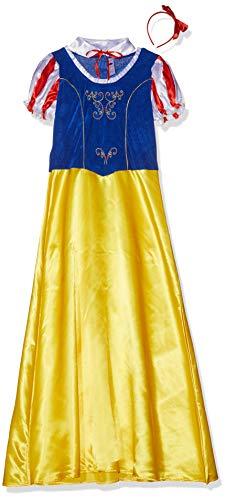 Smiffys 24643L - Fever Damen Schneewittchen Kostüm, Größe: 44-46, gelb