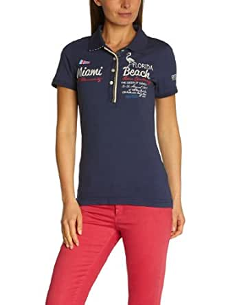 TOM TAILOR Polo Team Damen Poloshirt 15123410073/Statement