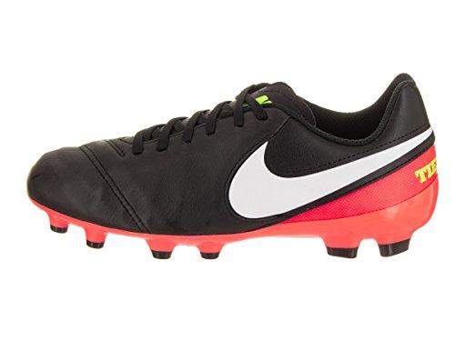 Nike 819186-018, Chaussures de Football Mixte Adulte Noir (Black/white/hyper Orange/volt)