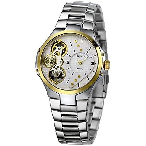 Relojes hombres/ movimiento de doble reloj/Hombres s reloj del negocio-B