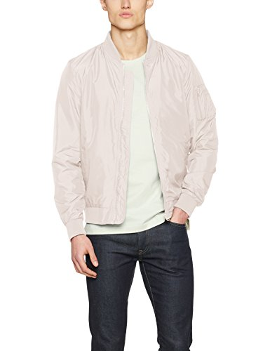 Urban Classics TB1258  Light Bomber Bomberjacke, Mehrfarbig (light pink 760), Gr. Medium