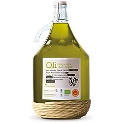 Aceite de Oliva virgen extra - Ecológico - Denominación de origen protegida Les Garrigues - Garrafa vidrio 5 L