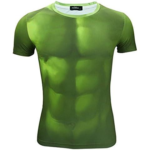 Madhero -  T-shirt - Collo a U  - Uomo