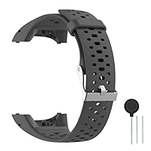 Cyeeson Polar M400/ M430 GPS Smart Uhr Replacement Armband Weiche Silikon Farbe Adustable Mischfarbe Band Gel Wristband Strap Watch Band für Polar M400/M430 Unisex Adult GPS Running Watch
