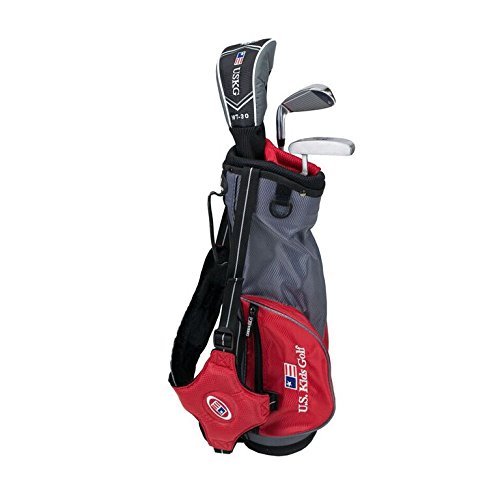"'US Kids Golf Ultralight Series Set 39 "", US Kids Golf Ultralight Series Set 39, 96 cm - 103 cm, Age 3 - 5 years, Golf Club for Kids, per bambini, Fairway mazze da golf Driver, Iron/ferro 7, Putter, Bag, Maximum Distance and control, Soft Feel, Lightweight, Stainless Steel"