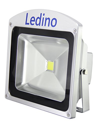 Ledino Ledisis High Power LED-Flutlichtstrahler, 50 W kalt/warmweiß Warmweiß