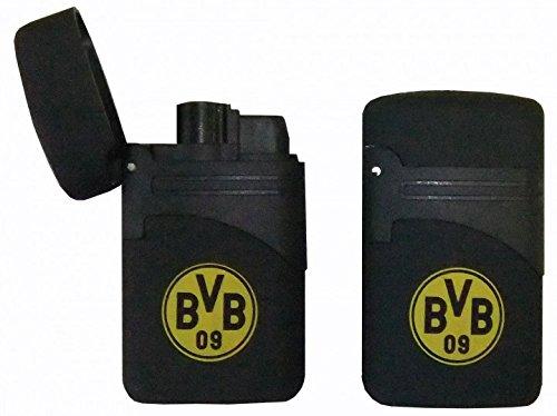 2 x Feuerzeug Turbo EASY TORCH BVB Borussia Dortmund nachfüllbar Atomic
