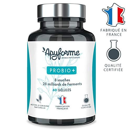 Probiotique Flore Intestinale Probio + • 47 milliards UFC par Gramme • 8 Souches • Complément...