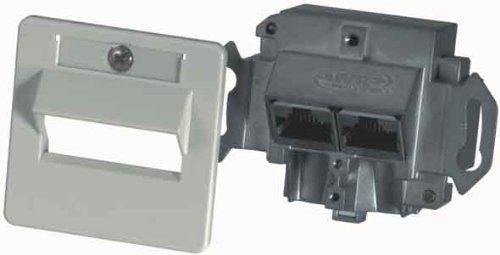 Preisvergleich Produktbild TE Connect.AMP / ADC Doppeldose Kat.6 0-0336539-1
