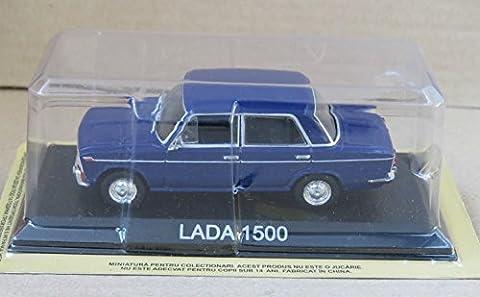 LADA 1500 BLEUE VOITURE MINIATURE COLLECTION 1/43 IXO LEGENDARY CAR AUTO B09