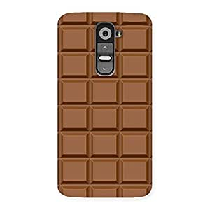 Chocolate Class Print Back Case Cover for LG G2