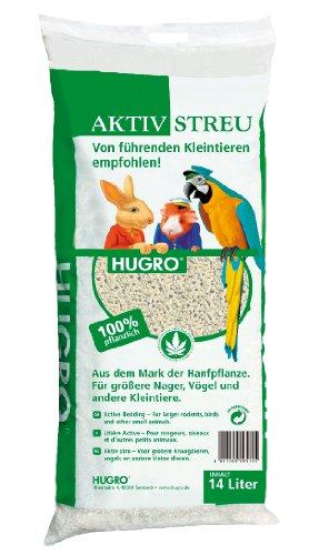 Hugro 09514 Nager Aktiv-Streu Hanfpellets