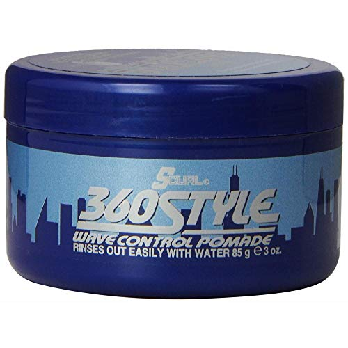 Luster Die 360 ??Art-Wave Control Pomade 85 ml (Packung mit 2) -