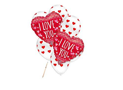 Irpot - bouquet palloncini i love you - cuoricini
