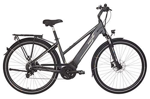 FISCHER Damen - E-Bike Trekking VIATOR 5.0i (2019), grau matt, 28