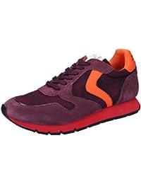 Voile Blanche Sneaker Hombre Liam Velour Prugna (Rojo)_42