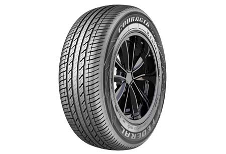 Pneumatici federal couragia xuv 235 60 16 100 h estive gomme nuove