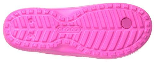 crocs Unisex-Erwachsene Classicflip Flip Flops Pink (Neon Magenta)