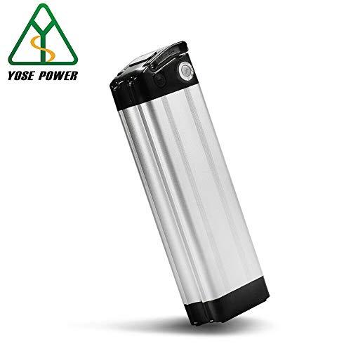 YOSE POWER E-Bike Akku 36V 10Ah (370Wh) Pedelec Batterie für Aldi Prophete MiFa Trio Samsung Zhenlong Phylion