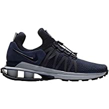 NIKE Men's Shox Gravity Obsidian/Midnight Navy/Wolf Grey Synthetic Running Shoes 10 (D) M US