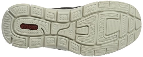 Rieker Herren B4877 Sneakers Grau (anthrazit/rauch/rauch / 45)
