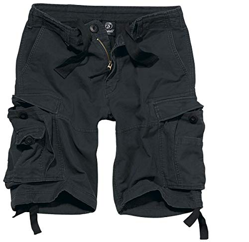 Brandit Vintage Shorts Pantalones Cortos Vintage Negro