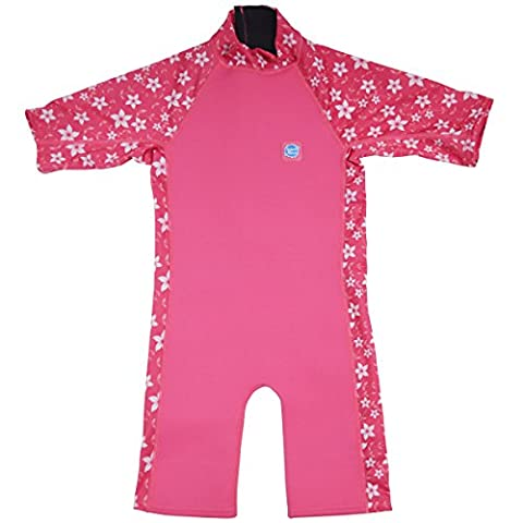 Splash About UV Combie Wetsuit - Pink Blossom, 2 -