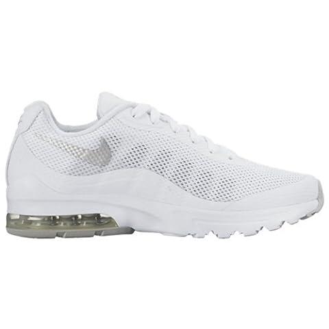 Nike Wmns Air Max Invigor, Damen Laufschuhe, Mehrfarbig (White/metallic Silver), 40.5 EU