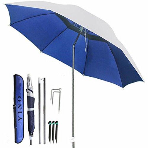 Galleria fotografica YINO portatile sole tonalita 'ombrello, incline, isolamento termico, antiultraviolet funzione, usato comunemente in giardino, le spiagge, la pesca essenziali
