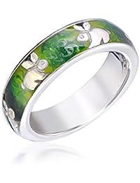 Silber 925 J7-1B Trauringe  Eheringe Verlobungsringe mit echten Blautopas