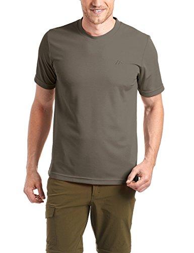 Cord Herren-shirt (Maier Sports Herren Shirt 1/2 Arm Piquee Programm,  teak / bungee cord 780,  XXL, 152302)