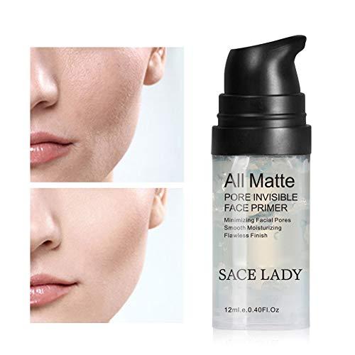 LanLan Lotions toniques 12 ML Base Base pour Le Visage Maquillage Liquide Mat Maquillage Maquillage Lignes Fines Contrôle Le Visage Visage Éclaircit Le Fond de Teint Fondant Cosmétique