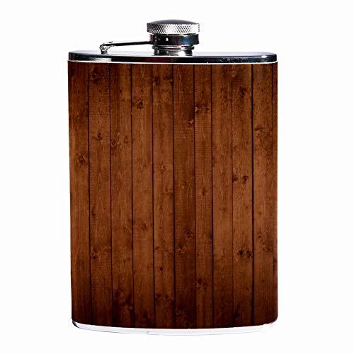 Auslaufsicherer Likör-Flachmann 19,7 ml Flagon Becher Lederbezug mit blauer Bowlingtasche Behälter für diskretes Schnapstrinken von Whiskey Alkohol Likor Color3