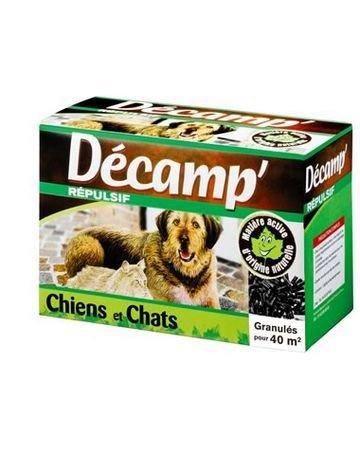 Décamp' - Répulsif chiens, chats 400g granulés Créa