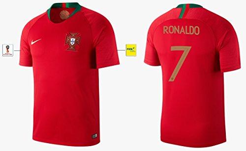 Trikot Herren Portugal WM 2018 Home - Ronaldo 7 (M)