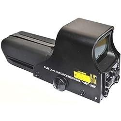 point de vue beileshi 552 holographique rouge - vert visier / dot viseur, 10 niveaux de luminosité, 30x22mm objectif de dia