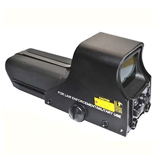 Red Sight Moa Dot 1 (Beileshi 552 Holographic Sight Red Green Point Visier / Dot Sight Scope, 10 Levels Brightness, 30x22mm Objective Lens Dia)