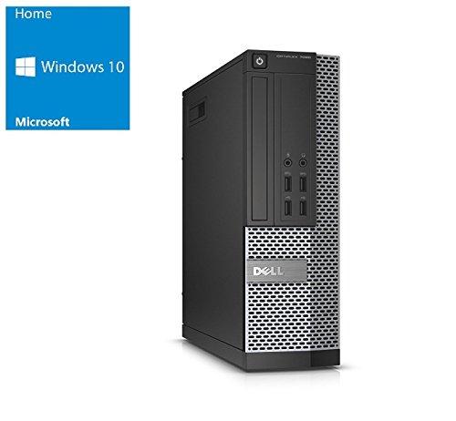 Dell Optiplex 7020 SFF | Office PC - Multimedia Computer | Intel Pentium G3240 @ 3,1 GHz | 4GB DDR3 RAM | 500GB HDD | DVD-Brenner | Windows 10 Home vorinstalliert (Zertifiziert und Generalüberholt)