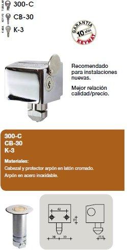 Keymat 4599D6 Rolltor-Schloss