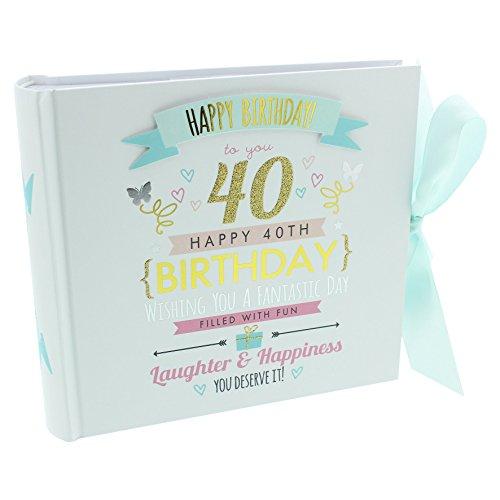 Ukgiftstoreonline Álbum Fotos 40 cumpleaños Capacidad