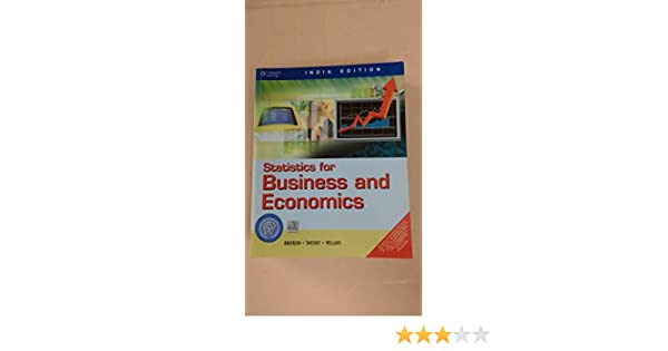 Buy statistics for business and economics book online at low buy statistics for business and economics book online at low prices in india statistics for business and economics reviews ratings amazon fandeluxe