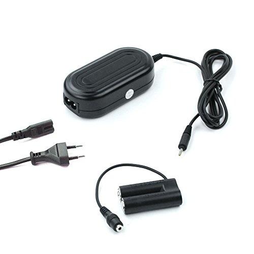 subtel® Netzteil kompatibel mit Nikon CoolPix 900 CoolPix L810 L840 L830 L820 L610 L330 L320 L310 L31 L29 L120 L105 L100 CoolPix A10 - ca. 3m, EH-65 + EP-65A, 3V Stromadapter AC Adapter Netzadapter - L100 / Ac-adapter