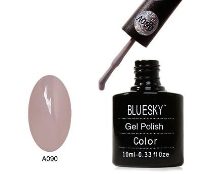 "Bluesky Nail Polish UV Soak off gel NEW ""A"" Range A90 10 ml"