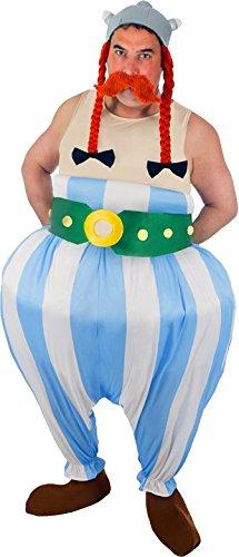 Chaks–Kostüm–Kostüm Obelix 5teilig.