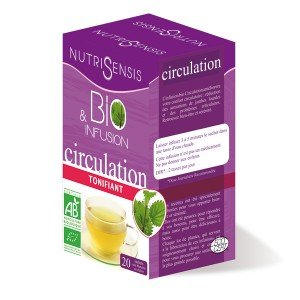 Nutrisensis - Nutrisensis Infusion circulation BIO - 20 sachets - BIO