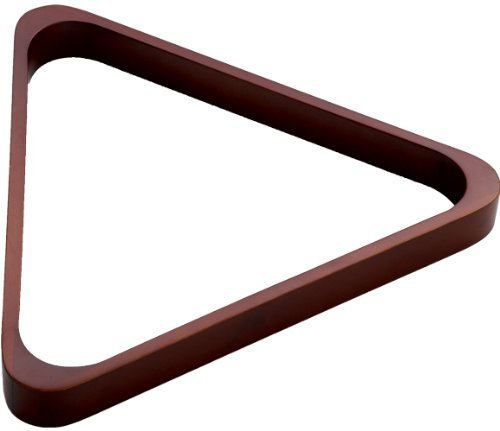 Stained Wood 8-Ball Triangle Rack by Outlaw Eyewear -