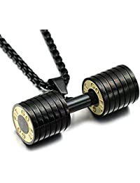 Dc Jewels Original Titanium Gym Fitness Jewelry For Men & Boys (Glossy Black)