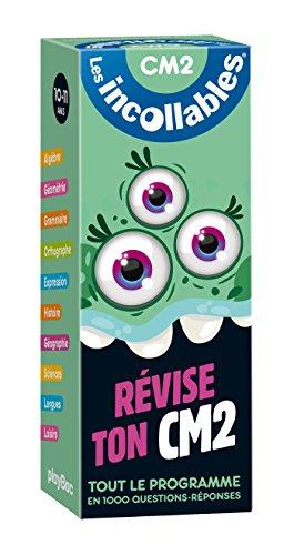 Incollables - Révise ton CM2 - Cahier de vacances par Play Bac