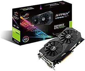 Asus ROG Strix-GTX1050TI-4G Gaming Nvidia GeForce Grafikkarte (PCIe 3.0, 4GB GDDR5 Speicher, HDMI, 2 x DVI-D, Displayport)