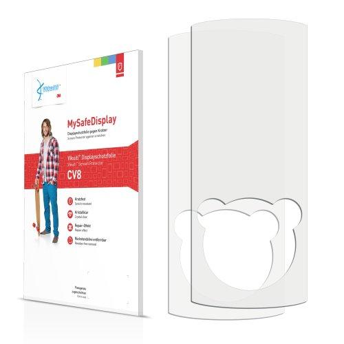 Vikuiti 2x Displayschutzfolie CV8 von 3M für Sony Walkman NWZ-E463K Schutzfolie Folie